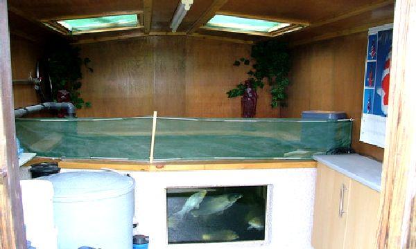 Fibreglassed koi pond koi pond window sealing for 1000 gallon fish pond